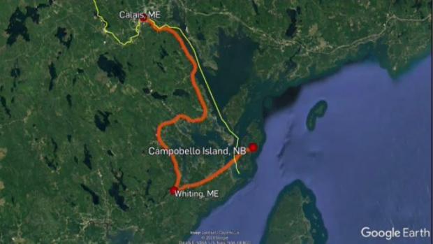 Campobello residents feeling the strain of long detour to mainland Canada