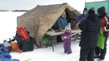 Timmins ice fishing derby