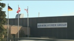 From CTV Kitchener's Max Wark: Erwin Hymer North A