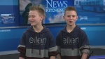 hockey trick twins CTV Kitchener 3