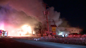 flames, fire, greenhouse, laval