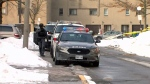 Toronto police are investigating after two people suffered gunshot wounds in the city's west end on Feb. 19, 2019.