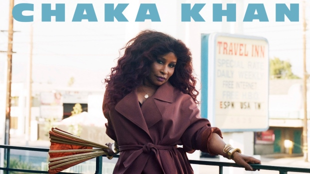 "This cover image released by Diary Records/Island Records shows ""Hello Happiness,"" the latest release by Chaka Khan. (Diary Records/Island Records via AP)"