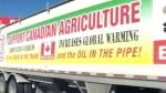 Pro-pipeline convoy reaches Ottawa