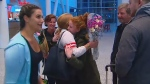 Canadian nurses return home