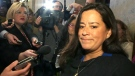 Jody Wilson-Raybould speaks to reporters