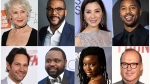 This combination photo shows, top row from left, Helen Mirren, Tyler Perry, Michelle Yeoh, Michael B. Jordan and bottom row from left, Paul Rudd, Brian Tyree Henry, Danai Gurira and Michael Keaton, who will serve as presenters at the 91st Annual Academy Awards on Sunday. (AP Photo)