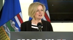 Alta. Premier Notley on crude-by-rail talks
