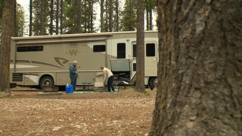 Group camping reservations in Alberta will launch July 14. (File photo)