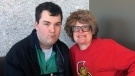 Amanda Telford with son Philippe who has autism.