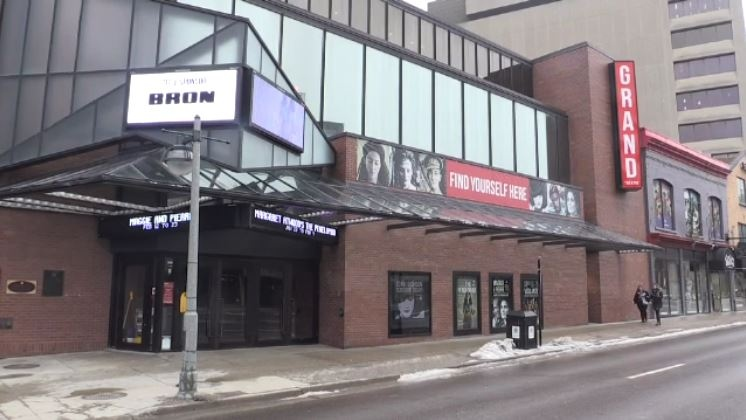 The Grand Theatre in London, Ont. is seen on Thursday, Feb. 7, 2019. (Daryl Newcombe / CTV London)