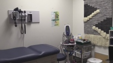 Medical clinic room