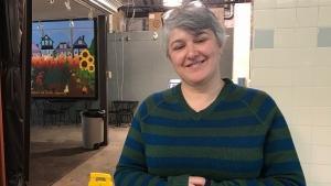 Erika Quiring, executive director of the Saskatoon Farmers' Market Co-operative. (Stephanie Villella/CTV Saskatoon)