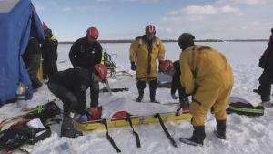 Underwater marine unit training