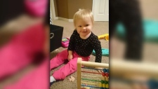 18-month-old Ceira McGrath died in November 2015 after being left in the care of an unlicensed day home in Silverado operated by Elmarie Simons (supplied)