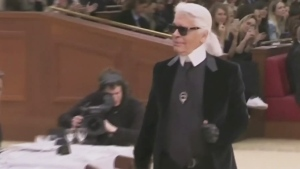 CTV Montreal: Montrealers remember Lagerfeld