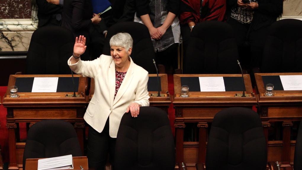 Finance Minister Carole James bduget 2019