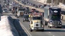 Pro-pipeline convoy to Ottawa
