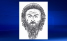 Composite sketch of the suspect in a January 24 attempted robbery in the parkade of the Grid 5 apartment building (CPS)