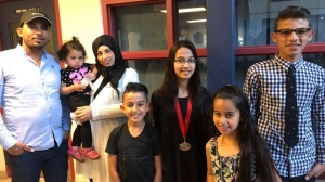 The Barho family moved from Syria to Canada in September 2017. The couple's seven children perished in a devastating house fire in Halifax on Feb. 19, 2019. (Ummah Masjid And Community Center/Facebook)