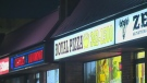 Armed robbers hold up pizza joint