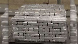 More than $12 million in methamphetamine seized by CBP in Texas.
