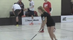 local women floorball Canada