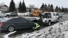 school bus crash Waterloo