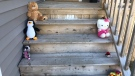 To honour the seven children killed in the Halifax fire, mother Andrea Bennett is leading an effort to have neighbours put out teddy bears on their front porches and window sills. (Andrea Bennett)