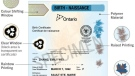 A sample long-form, polymer Ontario birth certificate. (Source: Ontario.ca)
