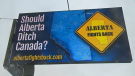 The campaign asks the question, 'Should Alberta Ditch Canada?