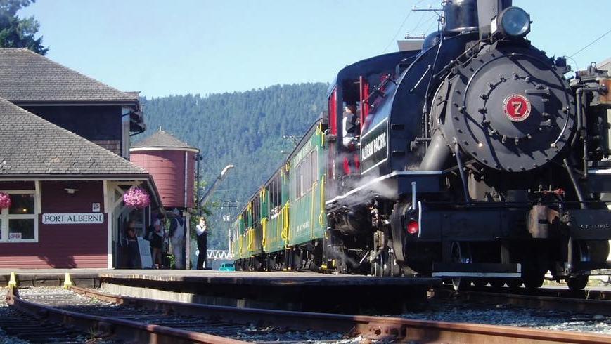 Port Alberni train