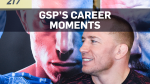 Georges St-Pierre made a living in the bloody battleground of the UFC ring. As he prepares to end his career, here are some top moments.