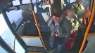 Surveillance still of a suspect in connection with an alleged sexual assault on a Calgary Transit bus on January 19, 2019 in Somerset  (CPS)