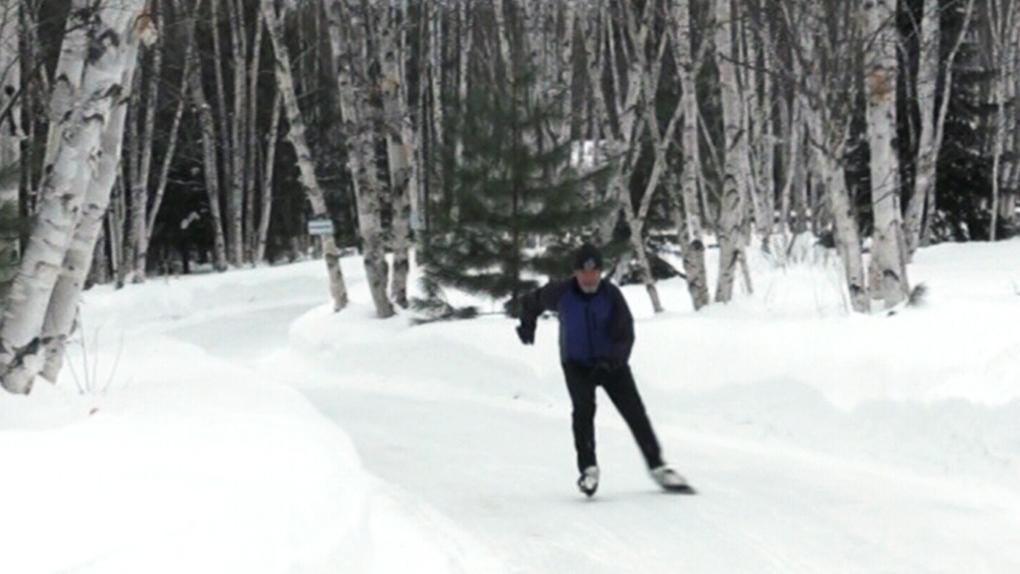 New skate path opens at Sudbury's Kivi Park | CTV News