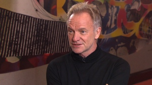Sting on Pop Life