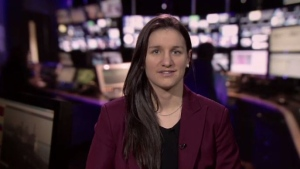 Les Canadiennes forward Jill Saulnier