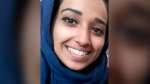 This undated image provided by attorney Hassan Shibly shows Hoda Muthana, an Alabama woman who left home to join the Islamic State after becoming radicalized online. (Hoda Muthana/Attorney Hassan Shibly via AP)