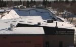 Fairview Arena - collapsed roof