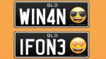 Australia will soon launch licence plates featuring emojis. (PPQ Personalised Plates Queensland/Facebook)