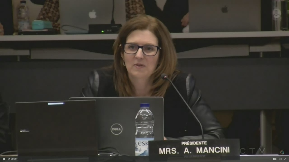 Angela Mancini, chair of the EMSB, apologizes for her behaviour