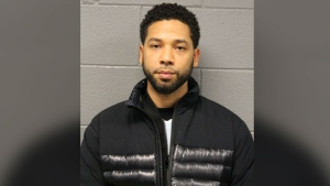 Jussie Smollett was arrested by the Chicago police after turning himself in on Thursday, Feb. 21, 2019. (Source: Chicago Police Department)