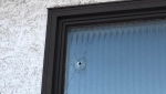 Police are investigating after a window at the Varsity Acres Presbyterian Church was hit by a bullet on February, 20, 2019.