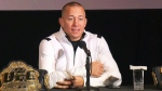 Georges St-Pierre announces his retirement on Thursday, Feb. 21, 2019.