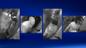 Montreal police say these men are suspects in an attack on a 35-year-old man that took place in July 2018