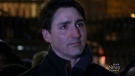 Trudeau attends Halifax vigil for Syrian family