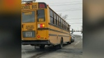 School bus stopped on tracks being investigated