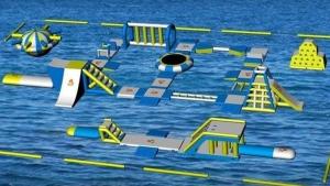 Wild Waves Waterpark is bringing an inflatable park to Rowan's Ravine this summer (Facebook: Wild Waves Waterpark)