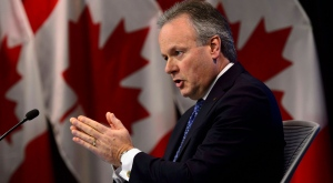 Stephen Poloz, Governor of the Bank of Canada, holds a press conference at the Bank of Canada in Ottawa on Wednesday, Jan. 9, 2019. THE CANADIAN PRESS/Sean Kilpatrick