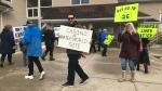 Protesters in Wasaga Beach over casino
